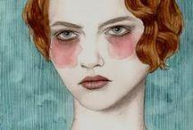 Art + Drawings + Illustrations