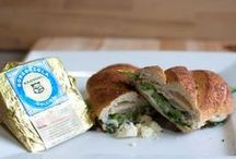 Burgers/Sandwiches / Any burger or sandwich becomes increasingly better when topped with Sartori Cheese. Follow here for yummy recipes!