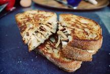Grilled Cheese / No grilled cheese is complete without Sartori Cheese.