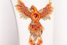 Handmade beaded jewelry by Ulyana Moldovyan. / My work - beaded jewelry and accesories. Handmade necklaces, earrings, bracelets etc. Egyptian style jewelry