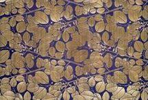 Koloman Moser Design Inspiration / Koloman Moser Design Inspiration by Slow Textiles Group at Textiles Hub London, 2015