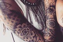 Women Sleeve Tattoo Examples