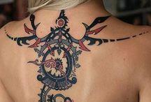 Women Tribal Tattoos