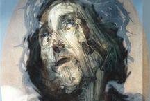 Glenn Brown (b.1966) / b. Hexham, Northumberland, 1966