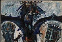 Francis Newton Souza (1924-2002) / b. Saligoa, Goa, 1924-2002 http://www.mutualart.com/Artist/F-N--Souza/2428ADC0F2061E10/Artworks http://www.fnsouza.com/