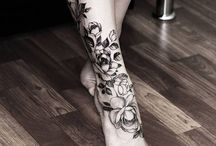 Foot Tattoo Collection