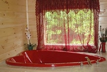 """Skinny Dipping Cabin / """"SKINNY DIPPING""""                      $250 to $350 per night   """"Skinny Dipping"""" is the perfect place for a romantic getaway, or a fun getaway for a small family. Skinny Dipping is the ultimate luxury cabin that is centrally located, for easy access to Gatlinburg's best attractions.    Fall in love....at Skinny Dipping."""