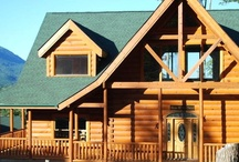 """8 Up With Fun Cabin / """"8 UP WITH FUN""""                     $595 - $950 per night   8 Up With Fun is a gorgeous 5500 sq. foot 3 Story log cabin with 8 bedrooms & offers the perfect combination of fun & luxury."""