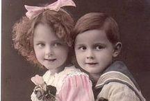 děti portréty minulosti