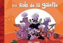 Collection Petit Lapin / Une collection toute mignonne de livres pour enfants, menée par Alice et Puyo.