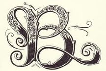 letters / for monogram class