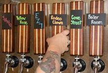 What's On Draft Tap Handles / Custom wood beer tap handles of exotic wood and designs.