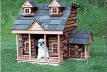 Extreme Dog Houses / Look at some of these incredible homes built for dogs! I am so impressed how amazing these are!