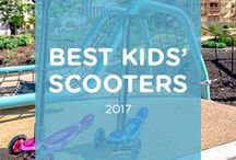 Best Kids Scooters 2017 | by Yvolution.com / Kids love scooters... but which one is the right one? Find out in this comprehensive overview. --- kids scooter | Yvolution | Kids | Toys | fun | activities for kids | outdoor activities | parenting
