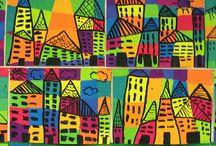 Kuvis: Talot ja kaupungit
