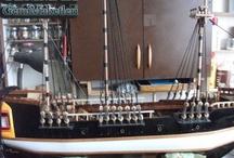 wooden ship models - ahşap gemi modelleri