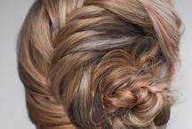 Penteados com Tranças / PAP's & Modelo de penteados utilizando tranças no penteado.