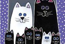Kuvis: Eläimet: Kissat ja koirat