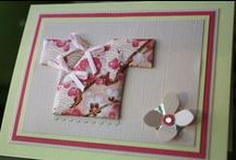 Washi Paper Cards / Handmade Greeting Cards made with Japanese Washi Paper