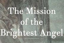 """Mission of the Brightest Angel / Gift an ebook instead of sending a card!  Great for birthdays, holidays, and just when you want to send a special """"Hi.""""  Just $1.49--less than most cards and more cool!    The Mission of the Brightest Angel by Kathryn V. White at Amazon.com. Learn more at www.kathrynVwhite.com."""