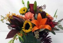 Fall in love with Autumn / jewel tones, rich warm colors, flowers for celebrations, special occasions