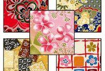 Washi Paper - Japanese Artisan Yuzen Washi / Washi Paper.  See www.HankoDesigns.com for more samples.