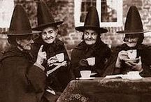 Vintage Halloween Witches