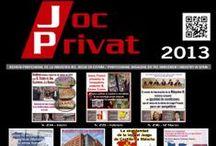 Portadas 2013 / Portadas de la Revista Joc Privat. 2013