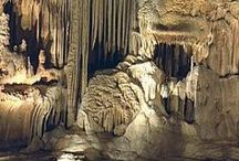 caves and mines