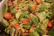 Summer Salads / Ideal salads for those summer parties in July & August.