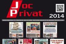 Portadas 2014 / Portadas 2014 Revista Joc Privat