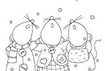 Digistempels - kerst