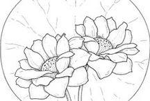 Digistempels - bloemen