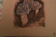 My Pyrography (pyropolly) / Here are a few of the burnings I have made