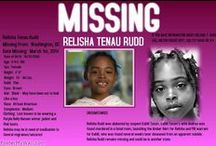 "WE LOVE YOU RELISHA / Relisha Rudd is an 8 year old child missing from Washington D.C. She was last seen on March 1, 2014. Relisha's disappearance was once measured in days. The days have stretched into weeks, and now into months. Sadly, the headlines are now reading that Relisha has ""vanished, without a trace"".  Her family has not done very much to look for her - so the community has rallied together - to hopefully help build her a bridge home. After all...sometimes it really does take a village. #weloveyourelisha"
