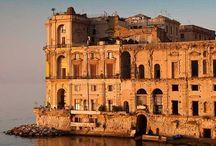 Naples / #campania #landscape #italy #italia #vesuvio #napoli #naples #caserta #salerno #positano #capri #anacapri #paestum #pompei #avellino #benevento #sorrento #ischia #tyrrhenian / by I Love Italian Holiday