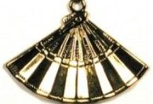 Charms Asian Decorative Embellishments Findings / www.HankoDesigns.com Charms Asian Decorative Embellishments Findings