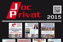 Portadas 2015 / Portadas Revista Joc Privat 2015