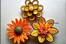 QUILLING- KWIATY / flowers/