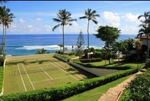 Tennis Courts - Beauties / by tennisvine.com ~