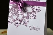 ~ Making Birthday cards ~