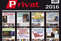 Portadas 2016 / Portadas Revista Joc Privat 2016. Joc Privat Revista Profesional de la Industria del Juego en España Publicación especializada en el sector del recreativo