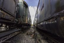 Oud en versleten / Abandoned train