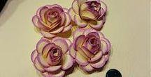KWIATY Z FOAMIRANU, PAPIERU /foamiran, paper flowers/