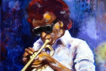 """My Art / Here are a few of my works or """"joints"""" as I call them. Since I am a musician, as well as an artist, my art pieces tend to have a musical theme. / by Bryan Tilford"""