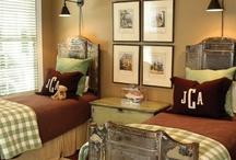 Boys bedroom / by Donna Belcher
