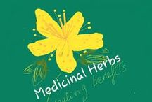 Herbs that Heal / Herb's health benefits- healing Plants, Trees, spices  #Herborist index