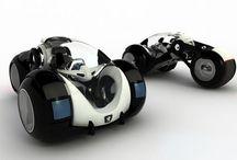 Futuristic Rides