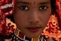 india portret women / by merel van wezel