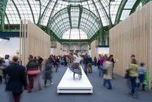 Le Banquet 2013 / Au cœur de la nef du Grand Palais, le Banquet, composé de 9 tables, réunit 107 œuvres d'exception créées par 63 artisans d'art, designers, ou plasticiens